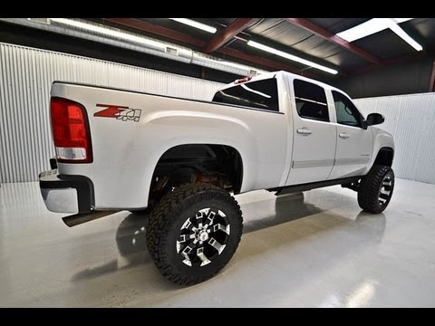 2012 gmc sierra 2500 z71 lifted truck for sale youtube. Black Bedroom Furniture Sets. Home Design Ideas