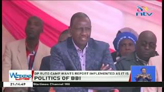 DP Ruto cautions politicians against using BBI report to divide Kenyans
