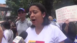 Dirigencia de la unidad apoyó marcha de gremio periodístico en conmemoración a su día