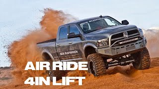 the ultimate lift bds suspension 4 air ride ecodiesel lift kit