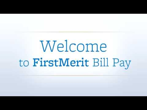FirstMerit Bank - Bill Pay - Product Video