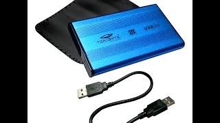 Terabyte External Usb Casing For 2.5 Inch Sata Hdd Harddisk Laptop-blue