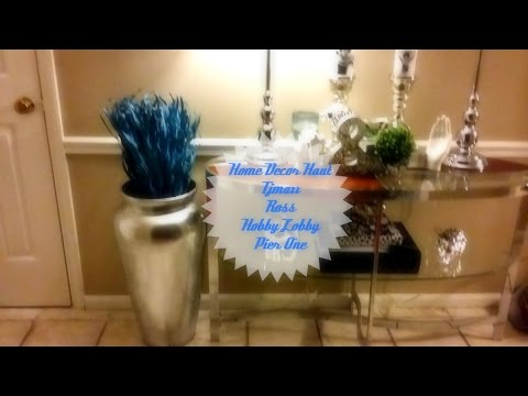 home decor haul august 2016 tjmaxx pier one hobby lobby ross - Ross Home Decor