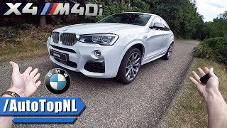 BMW X4 2017 M40i REVIEW POV Test Drive by AutoTopNL
