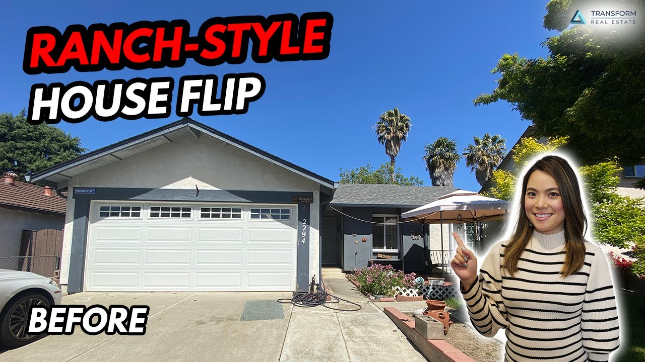 Entry Level House Flip BEFORE - Ranch Style Home Tour, 50 Year Old Home Remodel Scope of Work