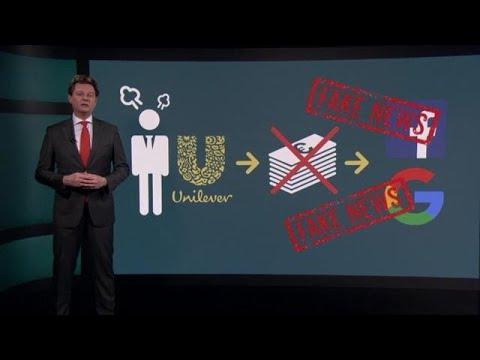 Unilever dreigt met terugtrekken advertenties bij Google en Facebook