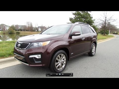2012 Kia Sorento SX AWD In Depth Review, Start Up, Exhaust, and Test Drive
