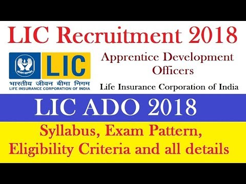 lic plans for lic ado exam Lic ado exam pattern and syllabus 2019 for the written examination provided through the official website wwwlicindiain here we have mentioned about the model question papers, study materials, how to plan and prepare for the examination, previous question papers and other related information provided below.