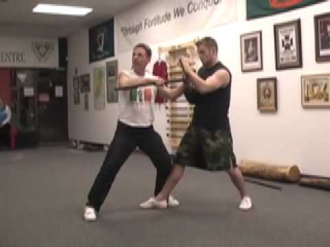 How to: Doyle Irish Stick Fighting (Lesson 2) Shillelagh Bataireacht