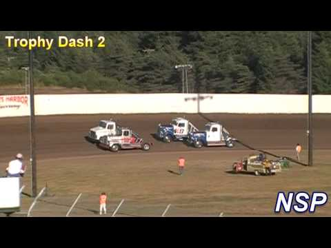7-24-2010 Rolling Thunder Big Rigs Trophy Dashes Grays Harbor Raceway