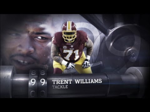 #99: Trent Williams (T, Redskins) | Top 100 Players of 2013 | NFL