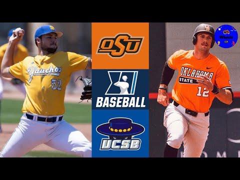 Oklahoma St v UC Santa Barbara | Tucson Regional Elimination Game | 2021 College Baseball Highlights