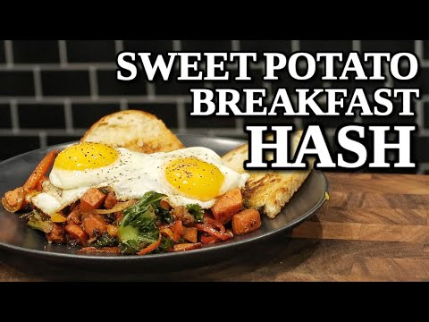 This is as healthy as my breakfasts can get! Sweet Potato Breakfast Hash