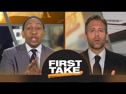 Stephen A., Max debate if Durant, Klay or Draymond will leave Warriors first | First Take | ESPN