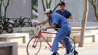 MECHANIC STEALING BIKES PRANK!!