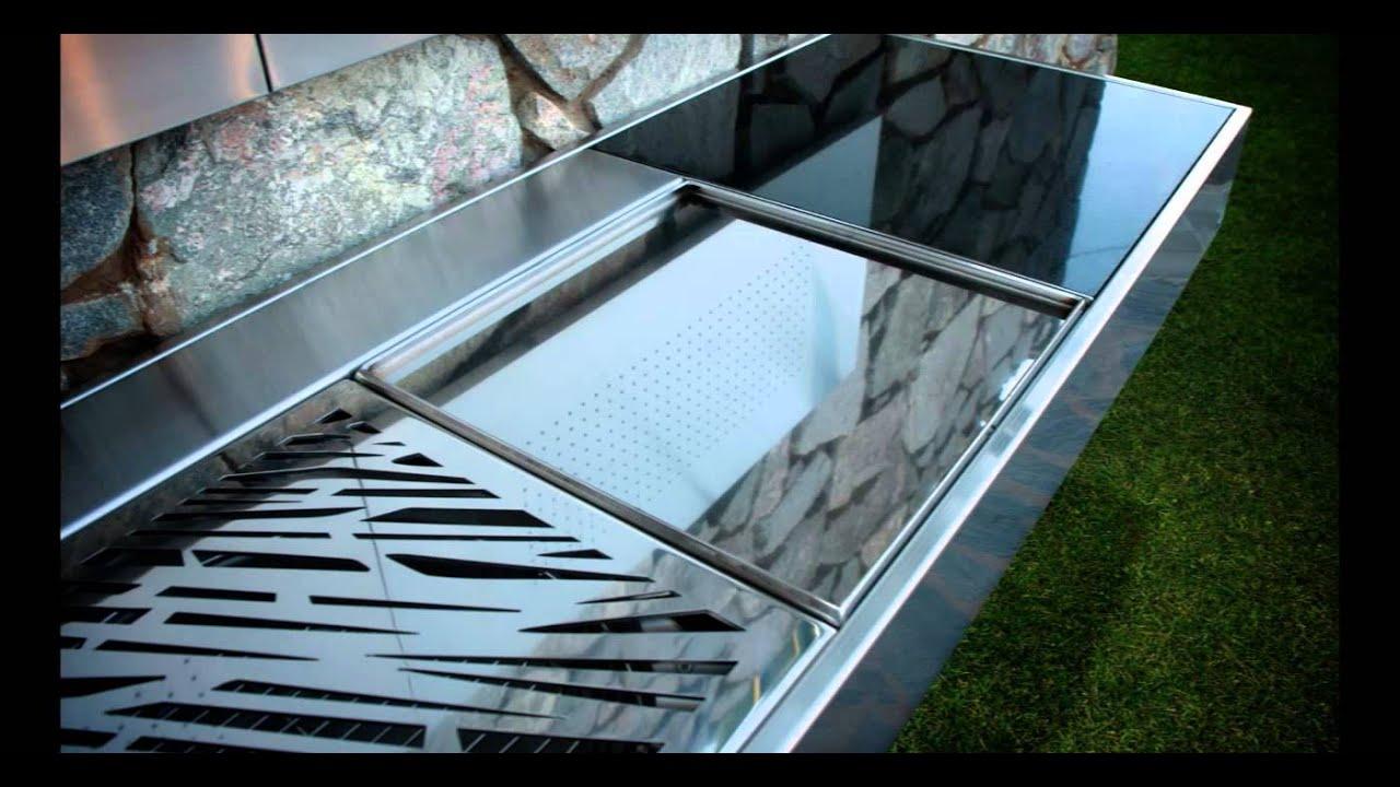 Barbacoas modernas econ micas de acero inoxidable de venta for Farolas de jardin modernas