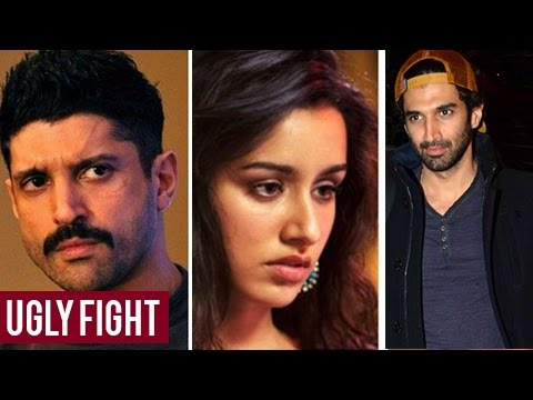Farhan Akhtar - Aditya Roy Kapur UGLY FIGHT, Shraddha Kapoor Spotted At Farhan Akhtar House
