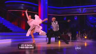 JR Martinez and Karina Smirnoff Dancing with the Stars 2011
