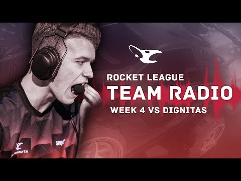 Team Radio: mouz vs dignitas in RLCS8 (Week 4)