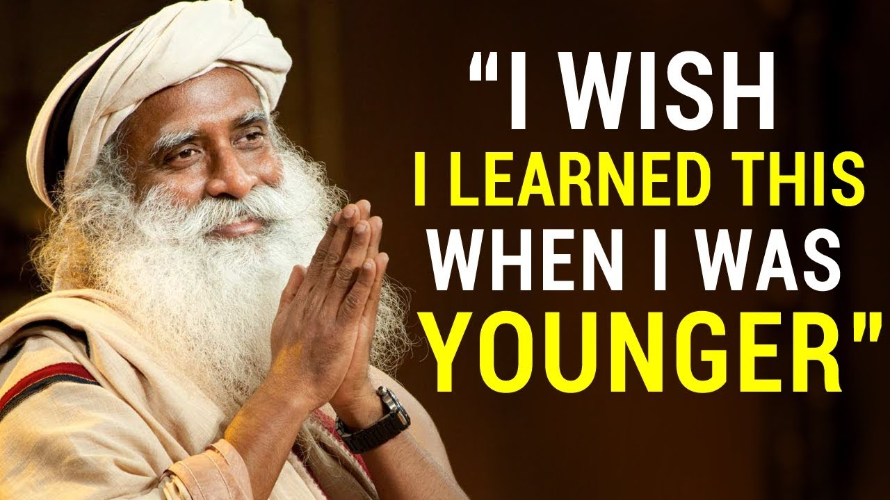 Sadhgurus Life Changing Advice For Young People (MUST WATCH)