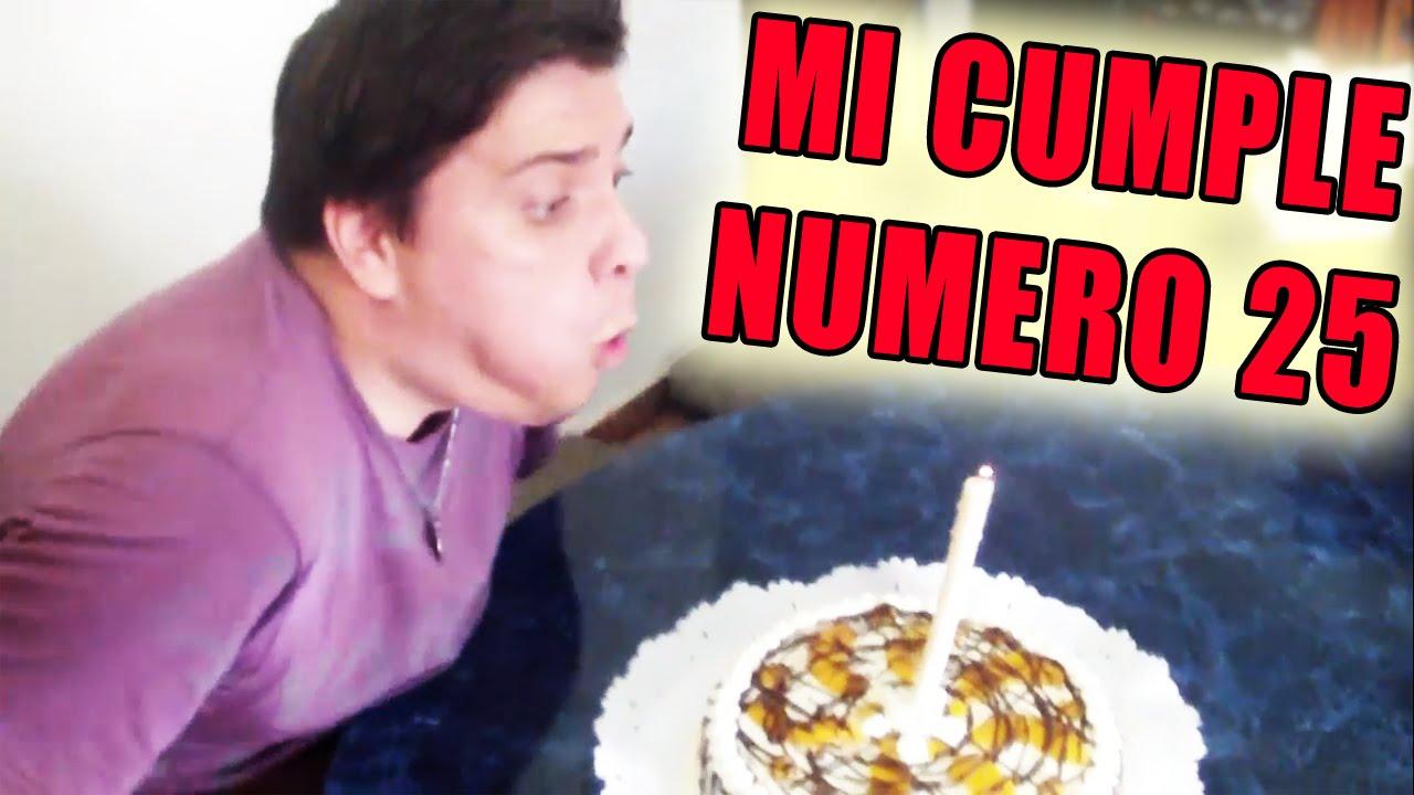 Rody Ei Es Mi Cumpleanos Numero 25 Youtube