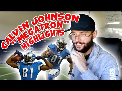 Rugby Player Reacts to CALVIN JOHNSON Megatron NFL Career Highlights