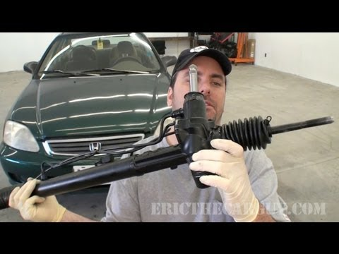 1999 Civic Power Steering Rack Replacement (Part 1) - EricTh