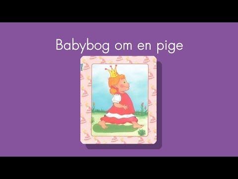 X Press It Babybog om en pige - Babyshower.dk