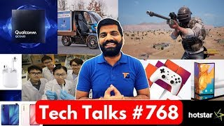 Tech Talks #768 - PUBG 0.11.5 Update, Google Stadia, New Airpods, Instagram Shopping, Poco F1