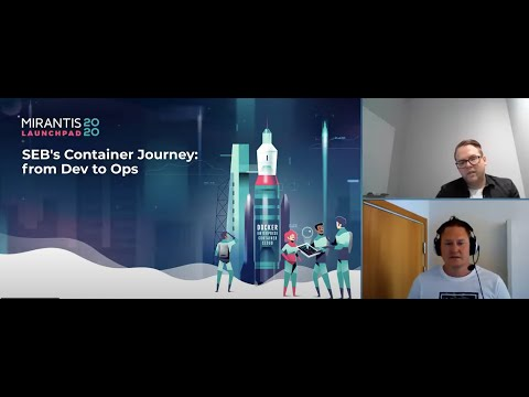 SEB's Container Journey from Dev to Ops