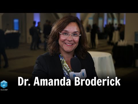 Dr. Amanda Broderick, University of East London | AWS Imagine EDU 2019