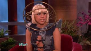 Lady Gaga's First Interview with Ellen!