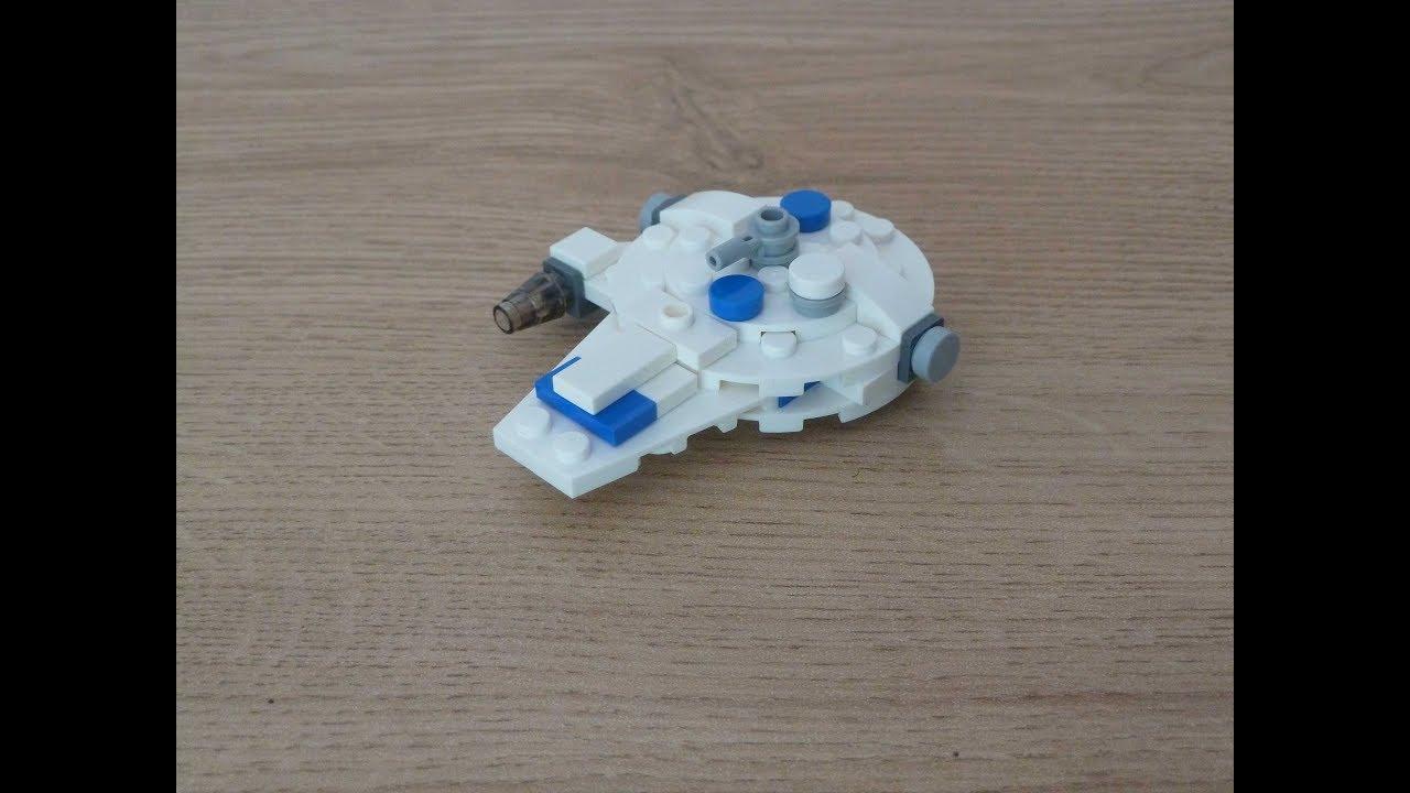 Lego Star Wars Kessel Run Millenium Falcon Instructions Magazine Gift July 2019 Youtube