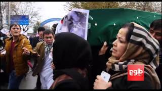 Kabul Demonstration Over Zabul Seven Peaceful Despite Angry Mood