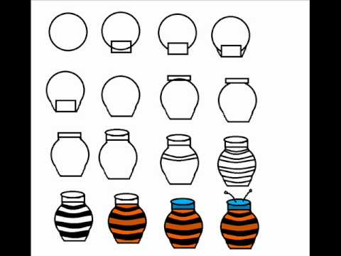How To Draw A Honey Jar Step By Step Drawing Tutorial