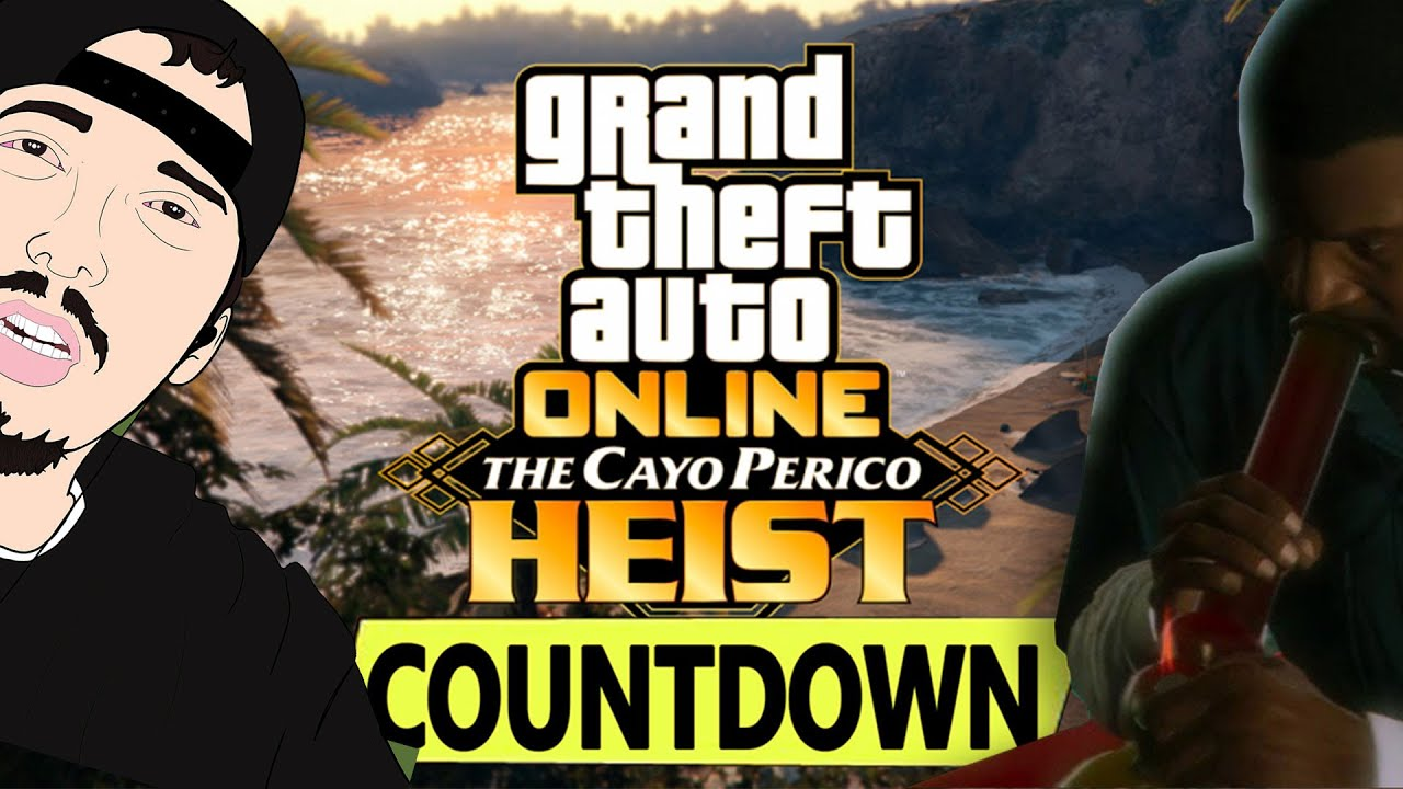 🔴GTA 5 Online The Cayo Perico Heist DLC Update LIVE COUNTDOWN TO RELEASE! 🔥Road to 4K🔥