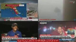 Live Hurricane Irma 11/9/2017 : Hurricane Irma: Live updates  CNN Fox اعصار ايرما مباشر