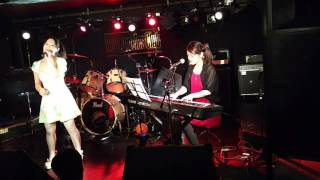 150911 東高円寺ロサンゼルスクラブにて:) サポートCho.+Pf.田中ゆい 桑...