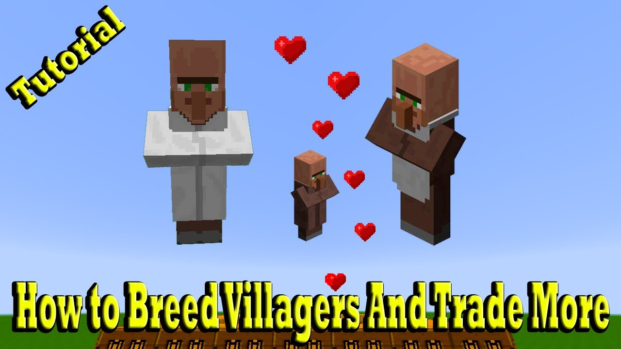 Minecraft How to Breed Villagers And Trade More - Most Popular Videos