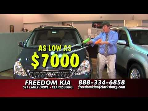 Shrink Sale At Freedom Kia Of Clarksburg Youtube