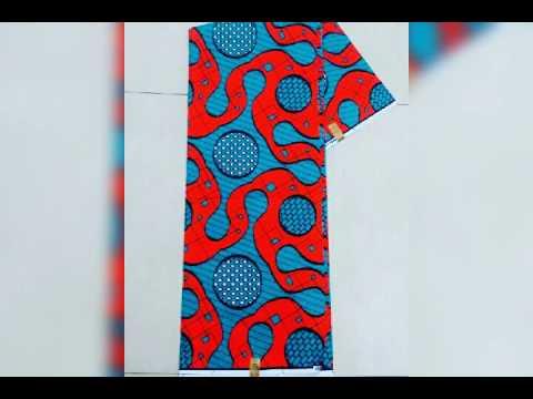 African fabrics (Ankara)