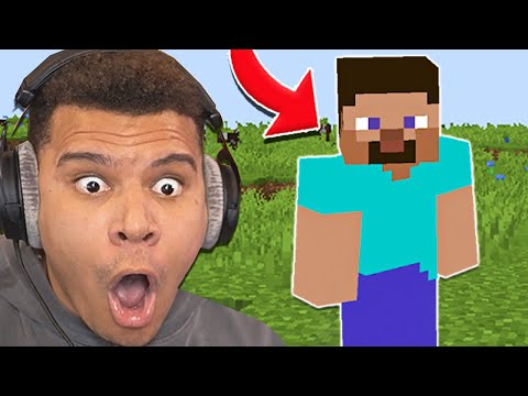 I Played Minecraft For The FIRST Time