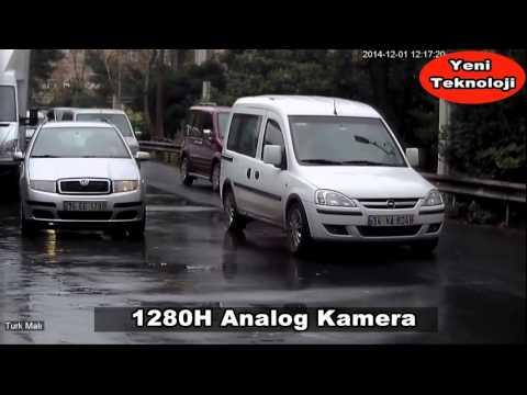 Analog , IP ,AHD Kamera Kıyaslama Videosu