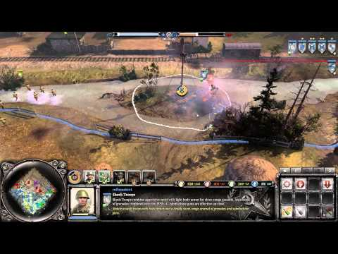 Company Of Heroes 2 Multiplayer Gameplay - Salt on the Russian Plains