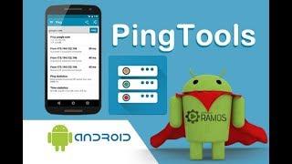 ⚠ App PingTools Network Utilities Android   http://professorramos.com