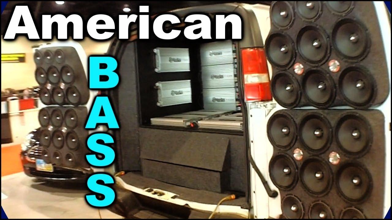 American Bass Demo Van Sbn 2012 Intense Car Audio System Install