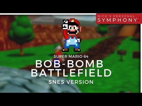 Super Mario 64 For SNES?   Alternate Reality Game Music