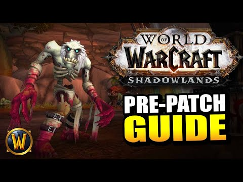 Shadowlands Pre-Patch GUIDE // Everything you need to know!
