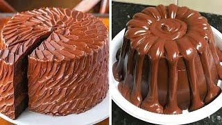 The Best Chocolate KITKAT Cake Decorating Tutorials   Easy Chocolate Cake Compilation by Mr Cakes смотреть онлайн в хорошем качестве - VIDEOOO