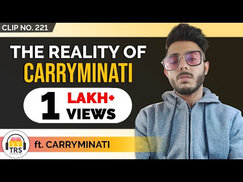 The Reality Of @CarryMinati | TheRanveerShow Clips